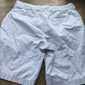Izod luxury sport men's light blue shorts size 36